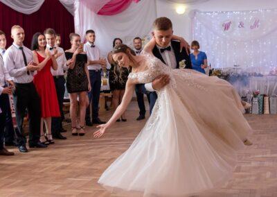 zjawiskowy pierwszy taniec