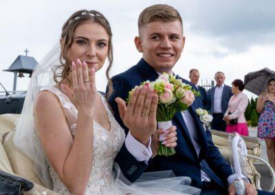 radość po ślubie