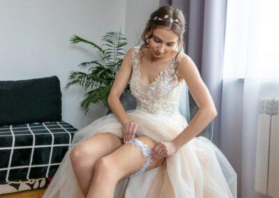 podwiązka na ślub